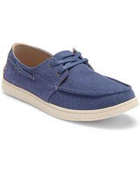 TOMS - Culver Canvas Boat Shoe - Lyst