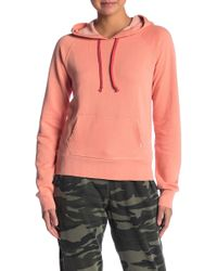Lucky Brand - Contrast Drawstring Hoodie - Lyst