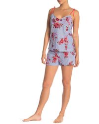 Josie Floral Embroidered Short - Multicolour