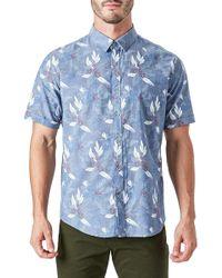 7 Diamonds - Woven Sport Shirt - Lyst