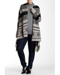Dex - Striped Sweater (plus Size) - Lyst