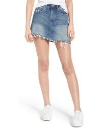 DL1961 - Georgia Denim Skirt - Lyst