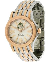 Bulova - Men's Kirkwood Two-tone Bracelet Watch - Lyst