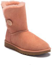 9ba28d690f9 denmark ugg bailey button tehuano suede sheepskin boots 022b9 d9282
