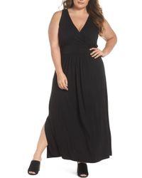 Caslon - Knit Maxi Dress (plus Size) - Lyst