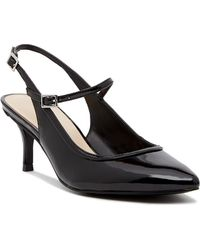 0a13991ffcc Nine West - Majest Mary Jane Slingback Pump - Wide Width Available - Lyst