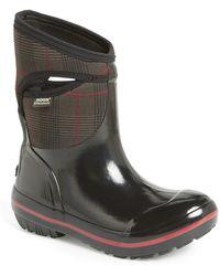 Bogs - Plimsoll Prince Of Wales Waterproof Boot - Lyst