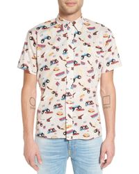 Ambsn - Monster Button Down - Lyst