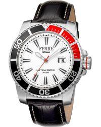Ferrè Milano - Men's Swiss Ronda 515 Watch, 45mm - Lyst