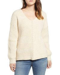 Obey - Eleanor Rib Knit Sweater - Lyst