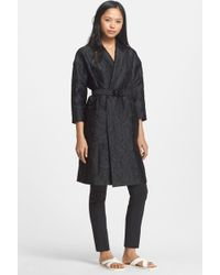 Tracy Reese - Belted Cloque Coat - Lyst