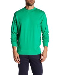 Peter Millar - Interlock Crew Neck Sweatshirt - Lyst