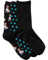 Hot Sox - Jack Russel - Pack Of 3 - Lyst