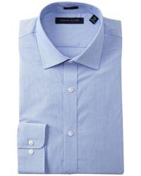 Tommy Hilfiger - Fineline Stripe Slim Fit Dress Shirt - Lyst