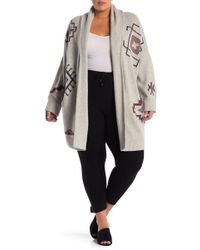 c931652da92 Lyst - NAKEDCASHMERE Tess Hooded Cashmere Cardigan (plus Size) in Blue