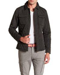 Scotch & Soda - Lightweight Quilted Shirt Jacket - Lyst