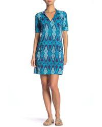 98bd3f14e52 Tori Richard - Jaxon Short Sleeve Dress - Lyst