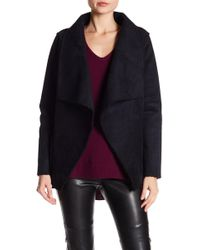 Velvet By Graham & Spencer - Faux Shearling Faux Suede Jacket - Lyst