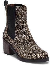 UGG - Camden Exotic Genuine Calf Hair Block Heel Boot - Lyst