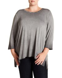 Cable & Gauge - Enzyme Knit Tunic (plus Size) - Lyst