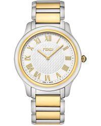 Fendi - Women's Classico Round Bracelet Watch, 40mm - Lyst