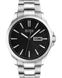 BOSS - Men's The James Bracelet Watch, 42mm - Lyst