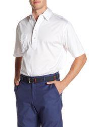Peter Millar - Lisle Kelly Hard Solid Polo - Lyst