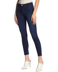 PAIGE - Hoxton Ankle Skinny Jeans - Lyst