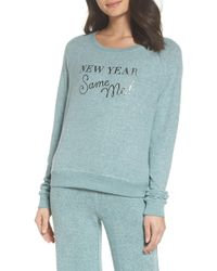 Make + Model - Hello Friday Crew Neck Lounge Jumper - Lyst