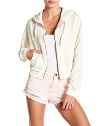 Sincerely Jules - Dylan Front Zip Hoodie - Lyst