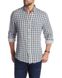 Grayers - Boulder Double Cloth Plaid Sport Slim Fit Shirt - Lyst