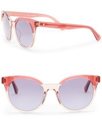 Kate Spade - Abianne 51mm Round Sunglasses - Lyst