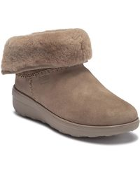 Fitflop - Shorty Ii Genuine Shearling Lined Boot - Lyst