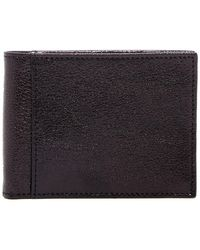 Bosca - Small Bifold Leather Id Wallet - Lyst