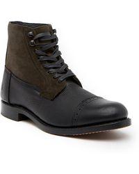 Frye - Garrison Leather & Suede Boot - Lyst