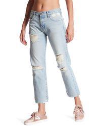 Current/Elliott - The Original Straight Leg Jeans - Lyst