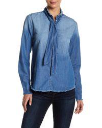 Joe's Jeans - Deconstructed Button Up Shirt - Lyst