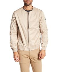 Native Youth - Daleford Collarless Bomber Jacket - Lyst