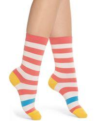 Paul Smith - Fearne Stripe Crew Socks - Lyst