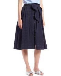 1901 - Clip Dot Full Skirt (regular & Petite) - Lyst