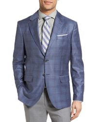 Moods Of Norway | Michelsen Trim Fit Plaid Wool Sport Coat | Lyst