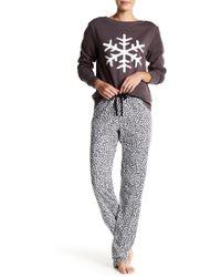 Love+Grace - Emma Leopard Pajama Pants - Lyst