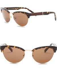 Shwood - Hayden 53mm Clubmaster Sunglasses - Lyst