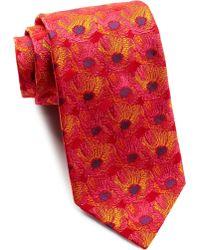 Thomas Pink - Harrogate Flower Silk Tie - Lyst