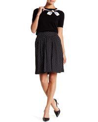 Cece by Cynthia Steffe - Polka Dot Printed Skirt - Lyst