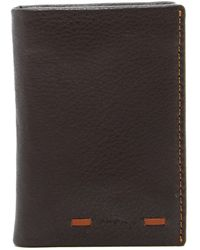 Tommy Bahama - Leather Bifold Card Case - Lyst