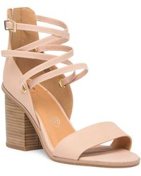 BC Footwear - Come Home Vegan Block Heel Sandal - Lyst