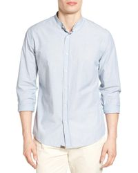 Billy Reid - Sloane Slub Sport Shirt - Lyst