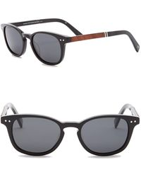 Shwood - Men's Quimby Polarized 50mm Rounded Sunglasses - Lyst