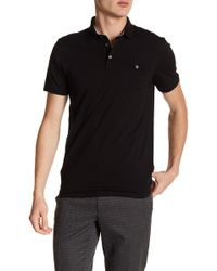 Ted Baker - Duckworth Printed Polo - Lyst